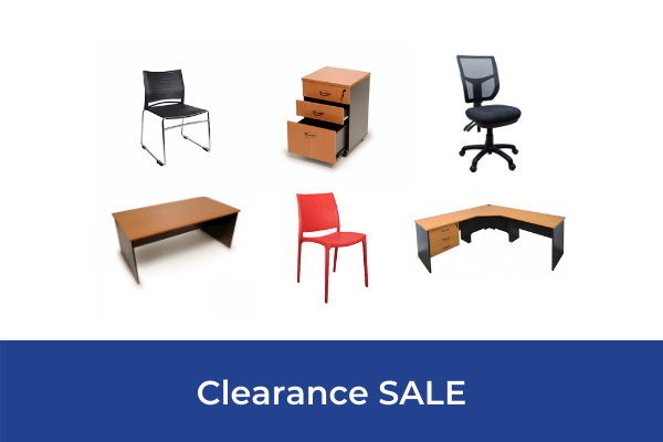Clearance office furniture sale